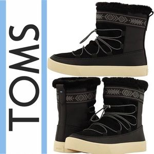 NWT Toms water resistant boots